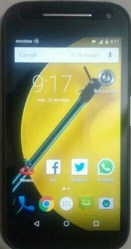 Teléfono Moto E 2 Generación