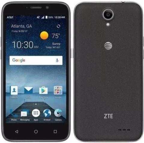 Teléfono Zte Maven 3 Nuevo, 4g Lte Android 7.1 1g Ram 8