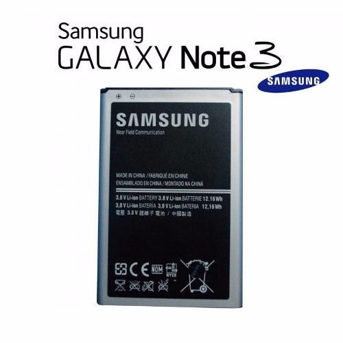 Bateria Pila Samsung Galaxy Note 3 N900 Original E.i