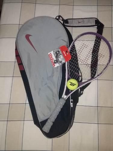 Bolso Para Raquetas De Tenis Y Raqueta De Tenis