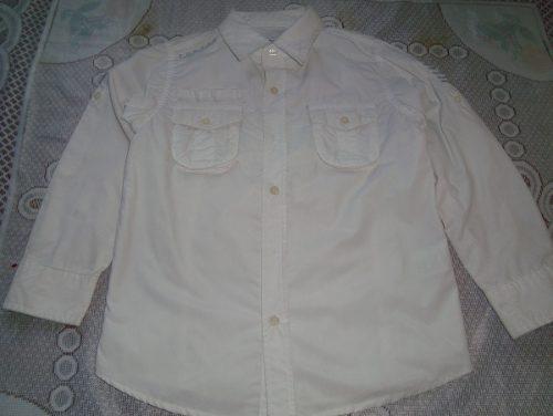 Camisa Manga Larga Para Niño Talla 8