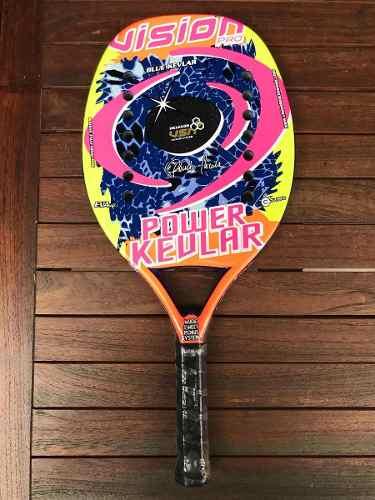 Raqueta De Beach Tennis Vision Power Kevlar Pro