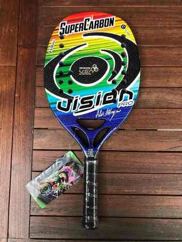 Raqueta De Beach Tennis Vision Súper Carbon Pro