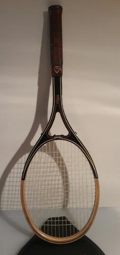 Raqueta De Tenis Head Fabricada En Madera Mod G.vilas
