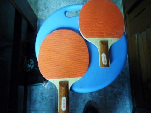 Raquetas De Tenis De Mesa, Poco Uso.