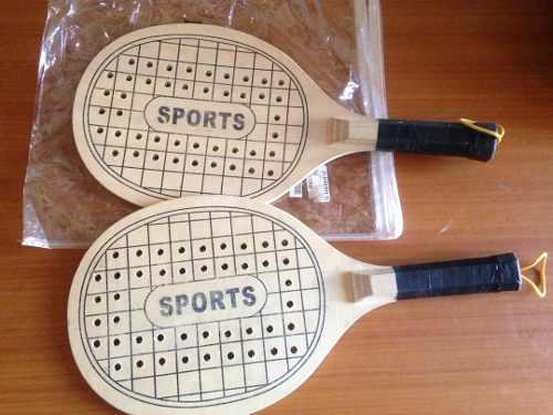 Raquetas Playeras Marca Sports Nuevas