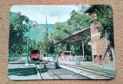 Vieja Postal De El Museo De Transporte Caracas