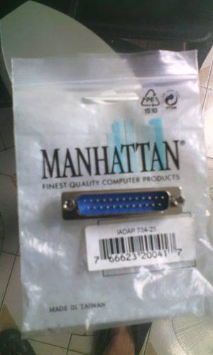 Adaptador Macho De 25 Pines Para Cable Vga O Computadoras