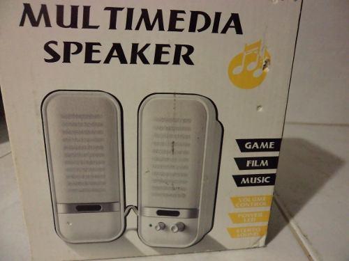 Cornetas Para Pc Multimedia Speaker