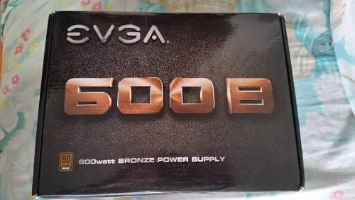 Fuente De Poder Evga 600b Certificada Bronce 600w