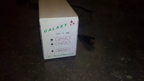 Regulador De Corriente Para Pc Galaxy 500