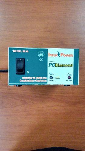 Regulador De Voltaje Inter Power 4 Tomas Computadoras
