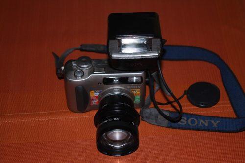 Camara Digital Sony Cyber-shot S75 Lente Y Flash Adicional
