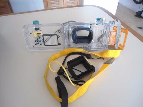 Funda O Case Protector De Agua Para Cámara Canon Wp-dc90