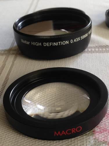 Lente Macro High Definition / Gran Angular