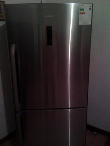 Nevera Redrigerador Bacco Acero Innox Casi Nueva Negociable.