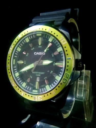 Reloj Casio Original De Acero Para Caballero Nuevos