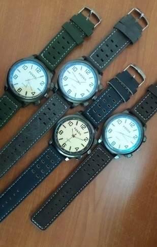 Reloj Fossil Caballero Correa De Cuero Modelos Nuevos