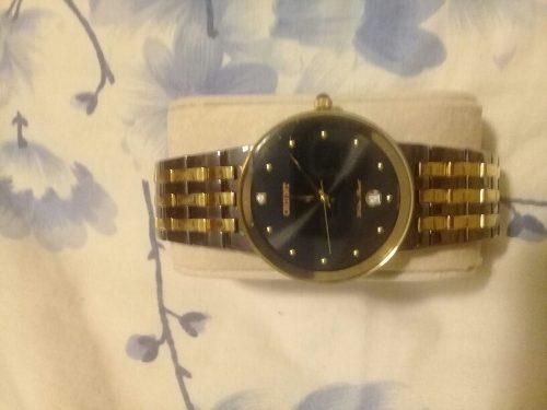 Reloj Orient Negro Con Dorado
