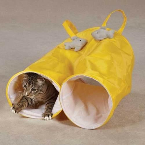 Tunel Para Gatos Perro Hamster En Forma De Pantalones Juego