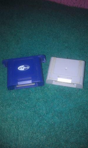 2 Memory Pack De Nintendo 64 En Perfecto Estado