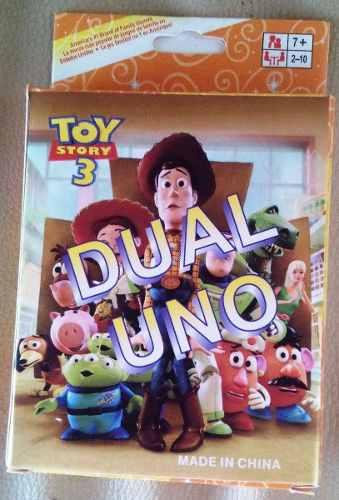 Cartas Uno Toy Story Niños Juego De Mesa Niños