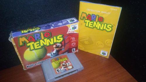 Juego De Nintendo 64 Mario Tennis ***solo Cambio***