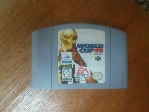 Juego De Nintendo 64 N64 Worl Cup 98