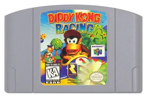 Juego Original Diddy Kong Racing Para Consola Nintendo 64