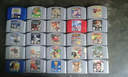 Juegos De Nintendo 64 Individuales
