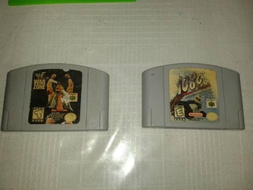 Juegos Nintendo 64 Deportivos En  Cada Uno, Oferta!!