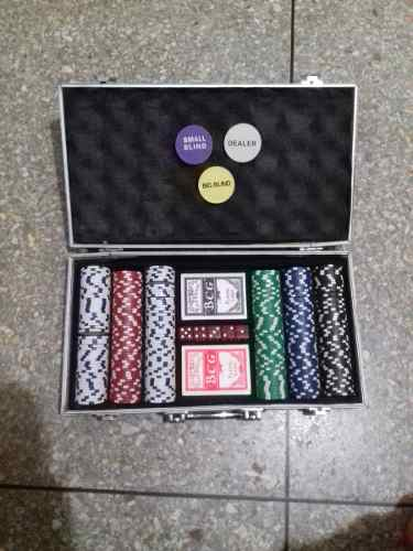 Maletin Poker 300 Fichas