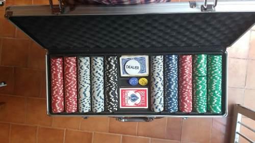 Maletin Poker 500 Fichas Buen Estado