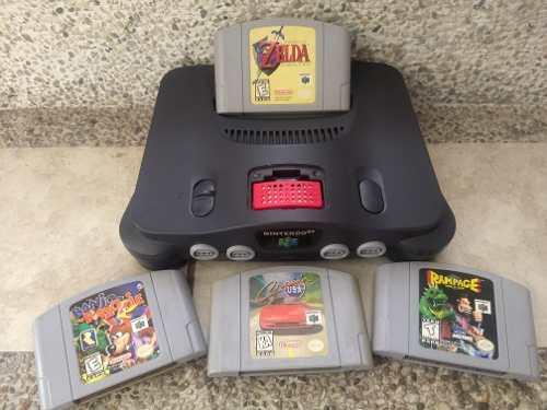 Nintendo 64 Con Los Mejores Juegos 2 Controles Expansionpack
