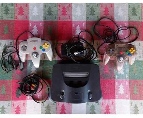 Nintendo 64 Controles + Consola De Regalo