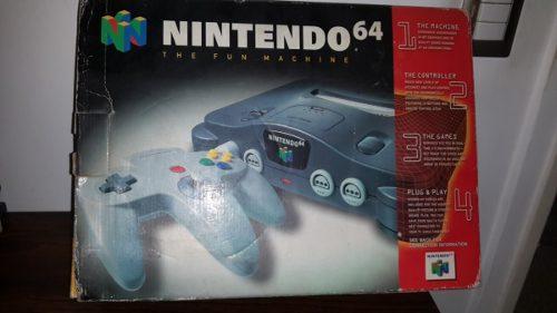 Nintendo 64 De Coleccion Original En Su Caja Anime Intacto