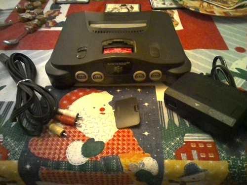 Oferta Navideña Nintendo 64. 2 Controles,8 Juegos1