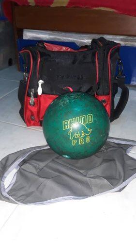 Pelota De Bowling, Funda Y Maletin