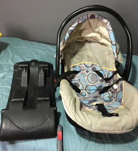 Porta Bebé Con Base Para Carro