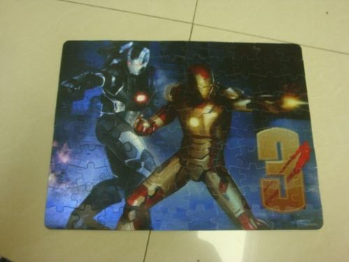 Rompecabeza De Iron Man 100 Piezas