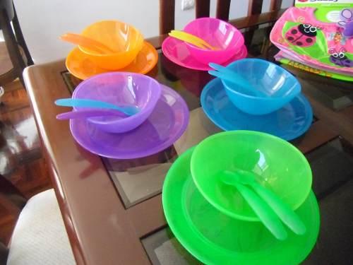 Set De Platos Y Cubiertos Para Niños Y Bebés Marca