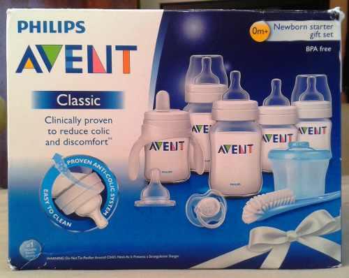 Set De Teteros Avent Philips Classic