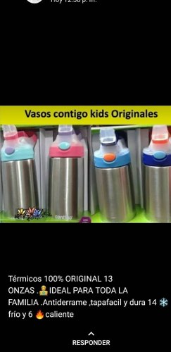 Vasos Contigo Kids