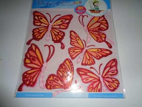 Vinilos Decorativos Sticker Calcomanias De Mariposa De Pared