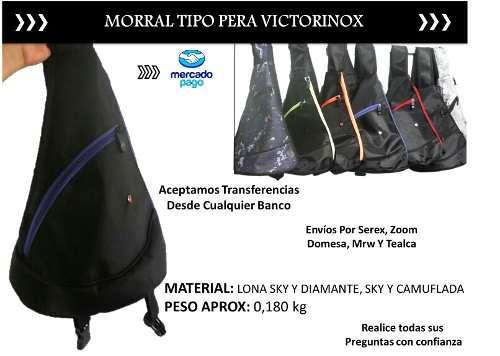 Bolsos Victorinox Tear Drop O Tipo Pera Al Mayor Y Detal