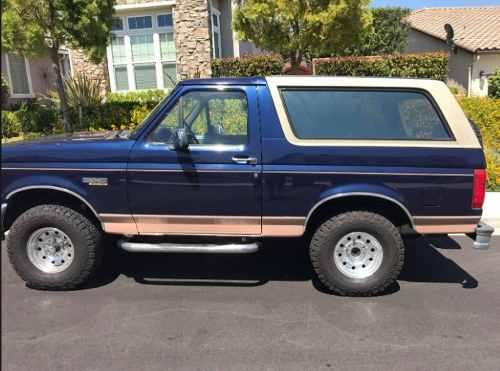 Calcomanias Lineas Ford Bronco