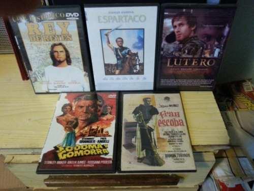 Coleccion Peliculas Y Actores Famosos Hist. Religiosas