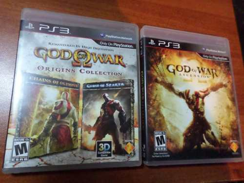 God Of War Ps3 (3 Juegos Físicos) Perfecto Estado