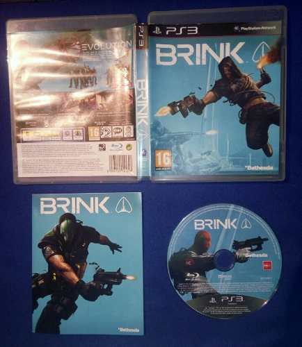 Juego Físico Brink Ps3 Original Playstation 3