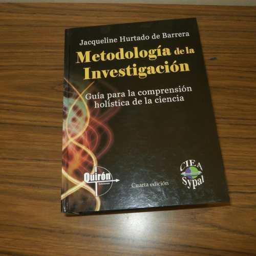 Libro Metodologia De La Investigacion Jacqueleline Hurtado D